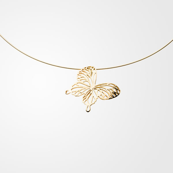 Wings Of Summer, necklace, gold