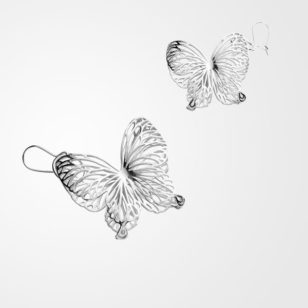 Wings Of Summer, earrings, small