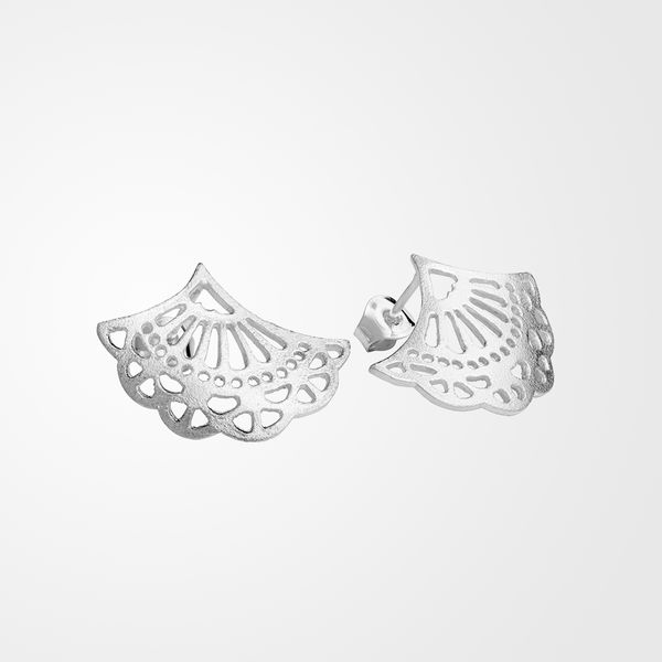 Grandma's Lace, stud earrings