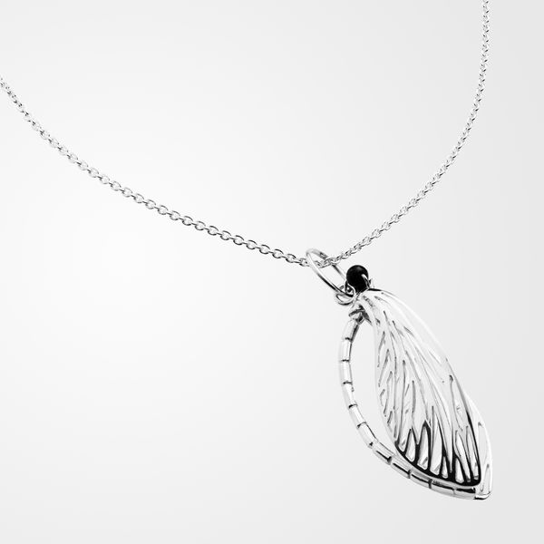 Shy Dragonfly, necklace