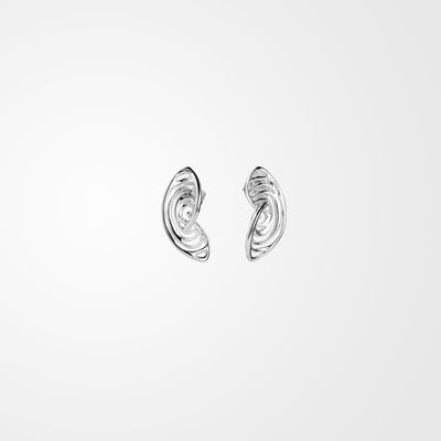Roots, stud earrings (XS)