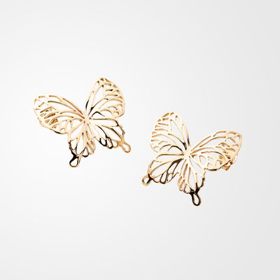 Wings Of Summer, earrings, small, gold